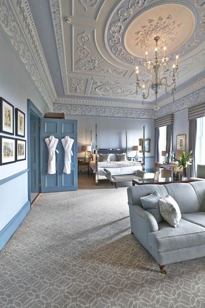 situated in the iconic royal crescent the bedrooms of baths royal crescent hotel feature a contemporary carpet design that balances georgian period