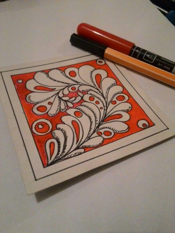 #art #zentangle #doodle #яхудожник #зентангл