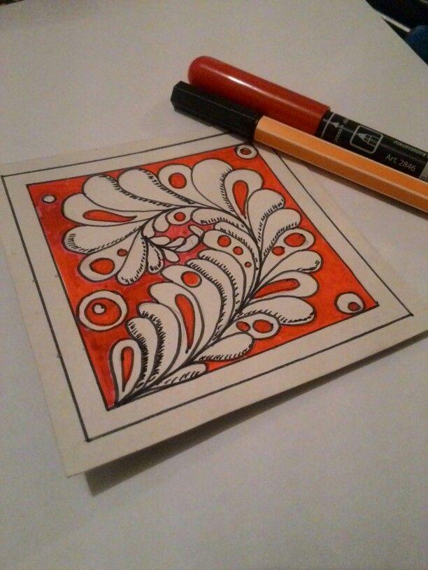 #art #zentangle #doodle #яхудожник #зентангл