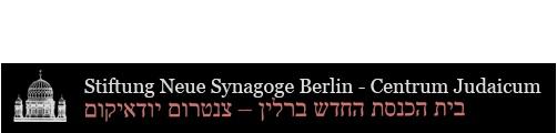Stiftung Neue Synagoge - Centrum Judaicum    Oranienburger Str 28/30  10117 Berlin