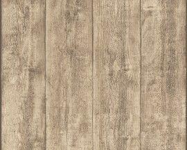Behang planken ruw hout 7088-16 A.S. Creation