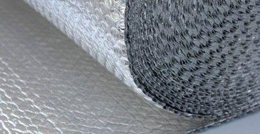 Radiant barrier insulation. Reflective foil