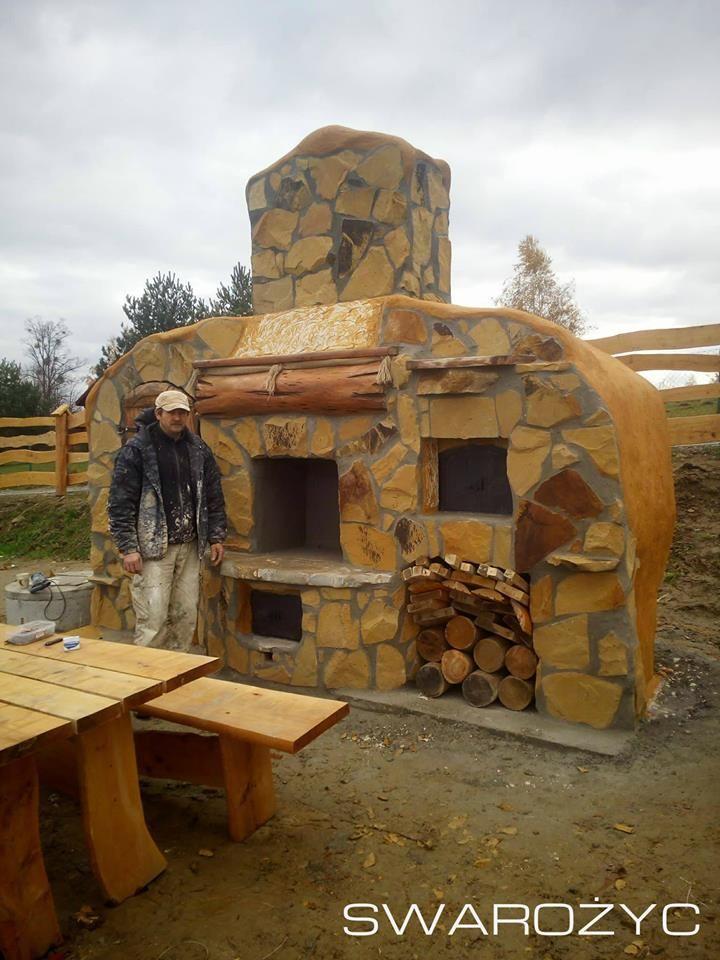 Grill Wedzarnia Piec Do Chleba I Pizzy Swarozyc 7330522659 Oficjalne Archiwum Allegro House Styles House Cabin