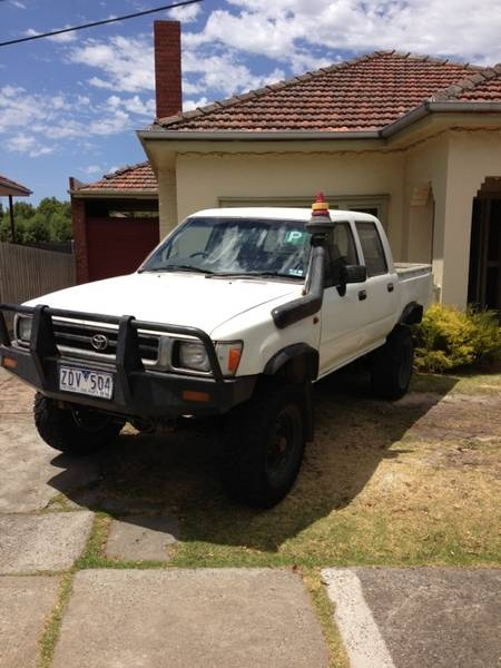 1994 Toyota Hilux dual cab Pascoe Vale South Moreland Area image 1
