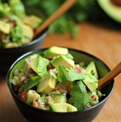 Avocado Amaranth Salad / 30 Delicious Meals In A Bowl (via BuzzFeed Community)