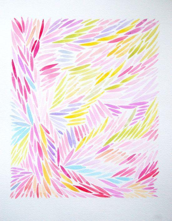 Large Original Floral Watercolour Art Painting by #painting art #painting| http://paintingwilfrid.blogspot.com