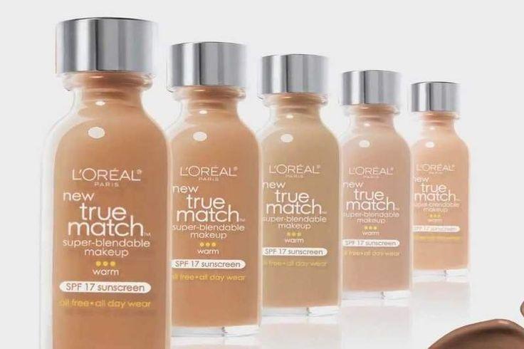 Las Mejores Bases de Maquillaje Low Cost-loreal true match