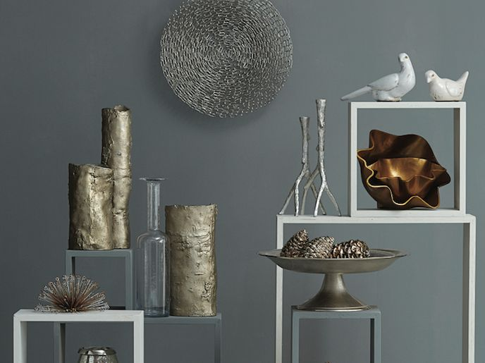 7 Tips For Decorating With Metallics