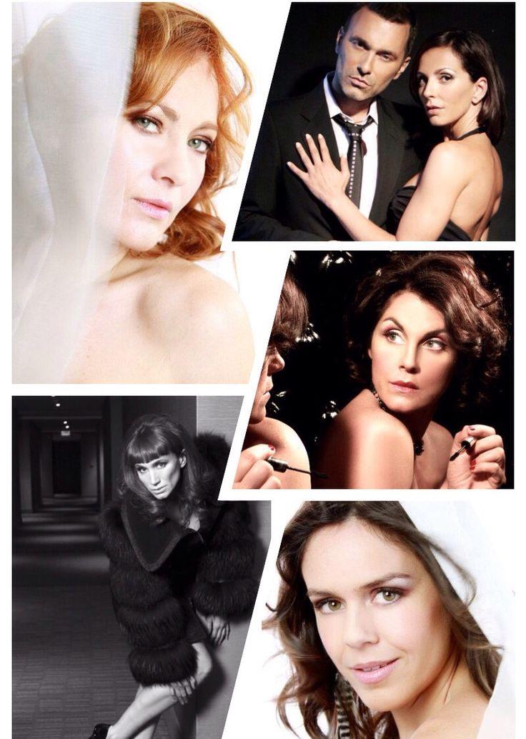 Diferentes looks , de actrices chilenas , Alejandra Herrera , paola volpatto , Alejandra fosalba , jordy Castell ,