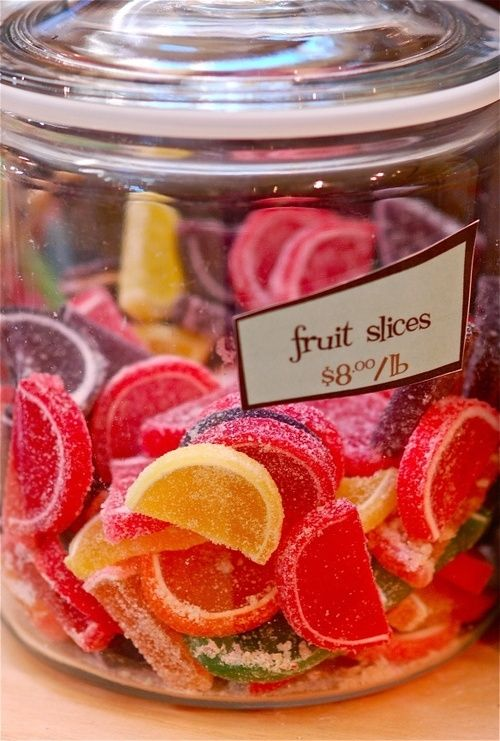 Candy fruit slices food candy sweets