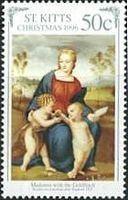 『カルデリーノ(ゴシキヒワ)の聖母』(陶器の絵) ラファエロ