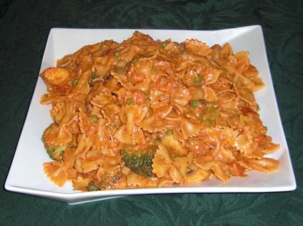 Macaroni Rosa! Copy of our favorite recipe from Buca di Beppo before they changed.  Hopefully it will taste the same!!