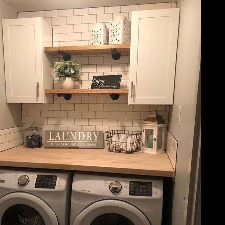 38 Hottest Laundry Closet Ideas To Save Space And Get Organized 38