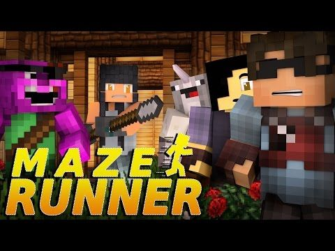 "Minecraft MAZE RUNNER! - ""A GIRL APPEARS?!"" #4 (Minecraft Roleplay) - YouTube"