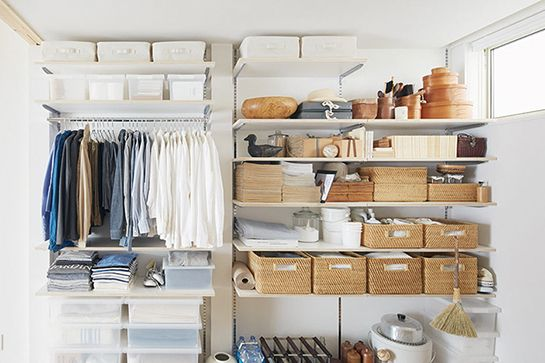 We Want To Move Into This Small-Space Japanese Apartment #refinery29  http://www.refinery29.com/muji-urban-apartment#slide12