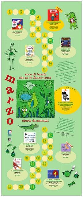 Calendario Nati per Leggere e Nati per Musica in Sardegna 2013: MARZO
