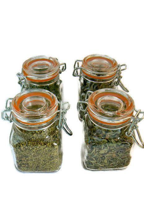 #Gourmet Gift  Set, #herb jars