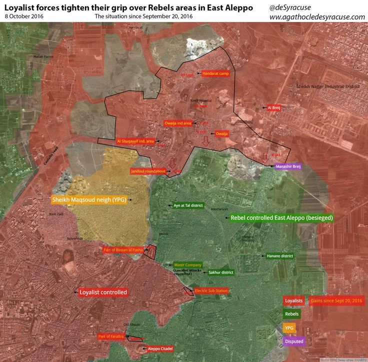 Map Of Poitiers%0A Map of government gains in battle of Aleppo as of October