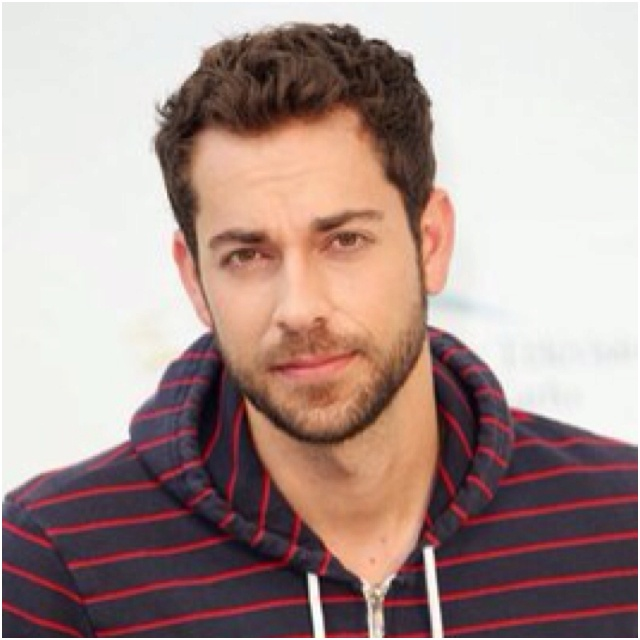Zachary Levi.. wait but i'm pretty sure i own that sweatshirt.. that means it's meant to be right?