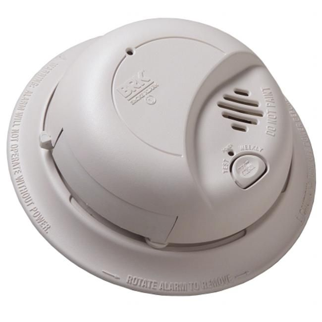 First Alert Brk Contractor Pack Smoke Alarm With Battery Back Up