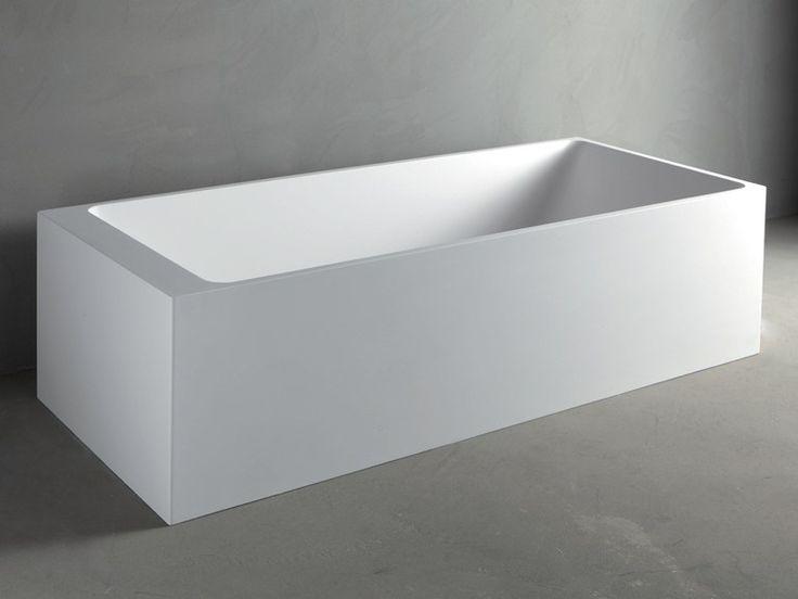 Vasca da bagno rettangolare in mineralmarmo square by rifra bagno pinterest prodotti di - Vasca da bagno rettangolare ...