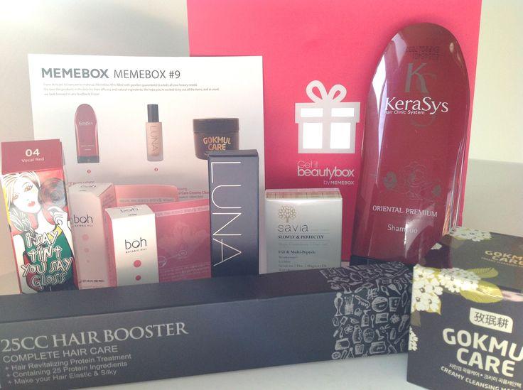 Memebox #9 Subscription Box (April 2014) Full Review:  http://imnotsoho.com/?page_id=2755