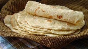 Solo las Mejores Recetas del Chef Santana: Tortillas de Harina
