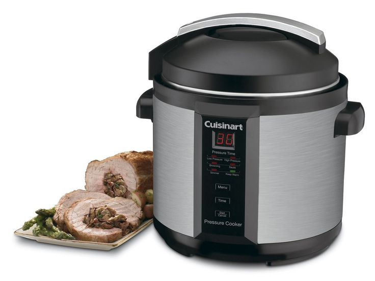 CPC-600 - Electric Pressure Cooker - Specialty Appliances - Products - Cuisinart.com