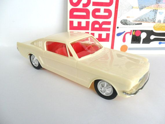 1965 Ford Mustang Fastback Toy Car 10 3 4 Inch Plastic