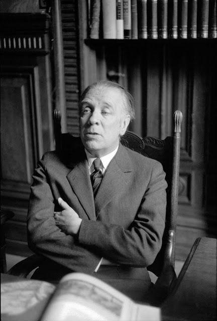 Borges todo el año: Jorge Luis Borges: Vindicación del 1900 - Foto: Borges retratado por Sameer Makarius