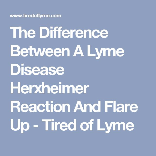 Lymes Disease Flare Up Naturally Treatment