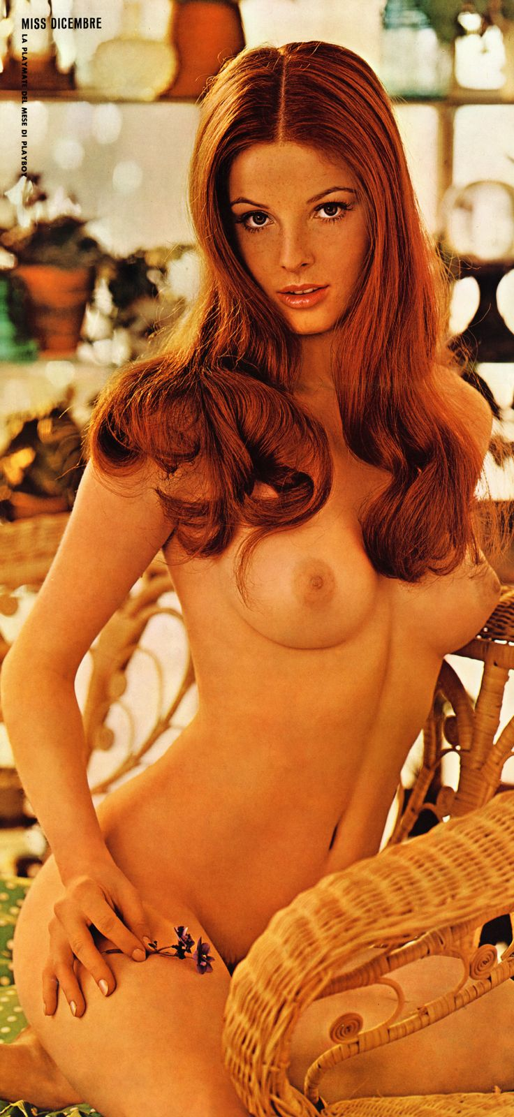 Deanna Baker, PMOM - May 1972, featured in Italian edition pictorial, Libertà e Judo, December 1972
