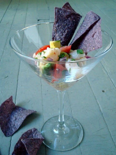 sweet corn ceviche salsa recipe yummly our trial ceviche with sweet ...