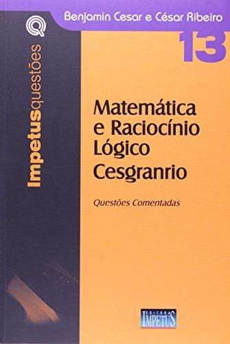Promoção -  Matematica e Raciocinio Logico Cesgranrio  #apostilas
