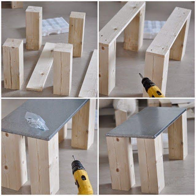 diy como hacer tu propia mesa de centro diy mesa auxiliar estilo nordico coffee table nordic. Black Bedroom Furniture Sets. Home Design Ideas