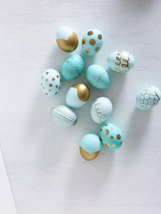 Ostereier färben: Tolle DIY-Ideen für deine Osterdeko