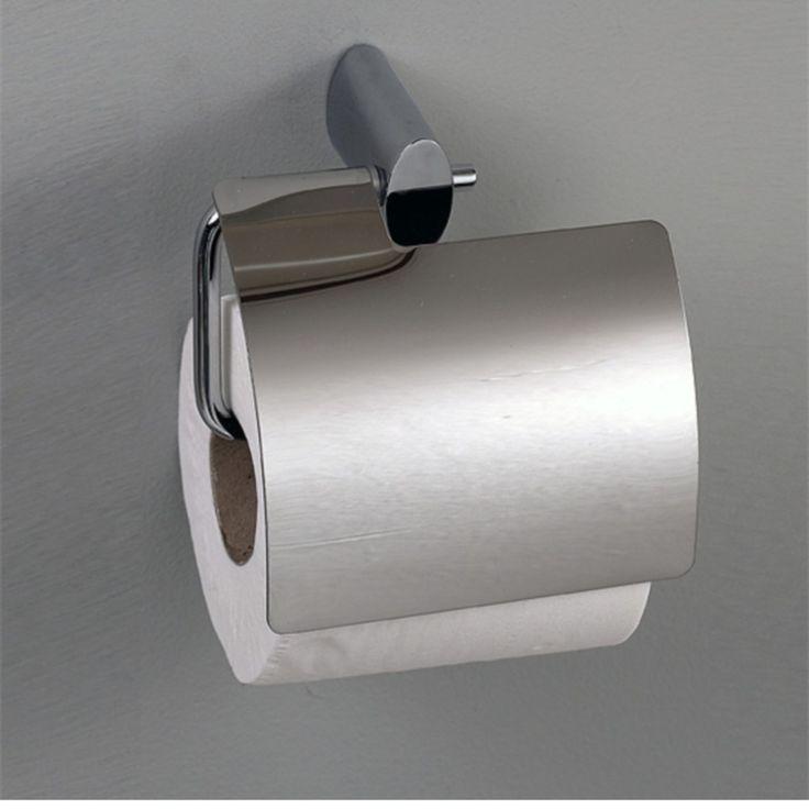 Modern Recessed Toilet Paper Holder Chrome toilet paper holder