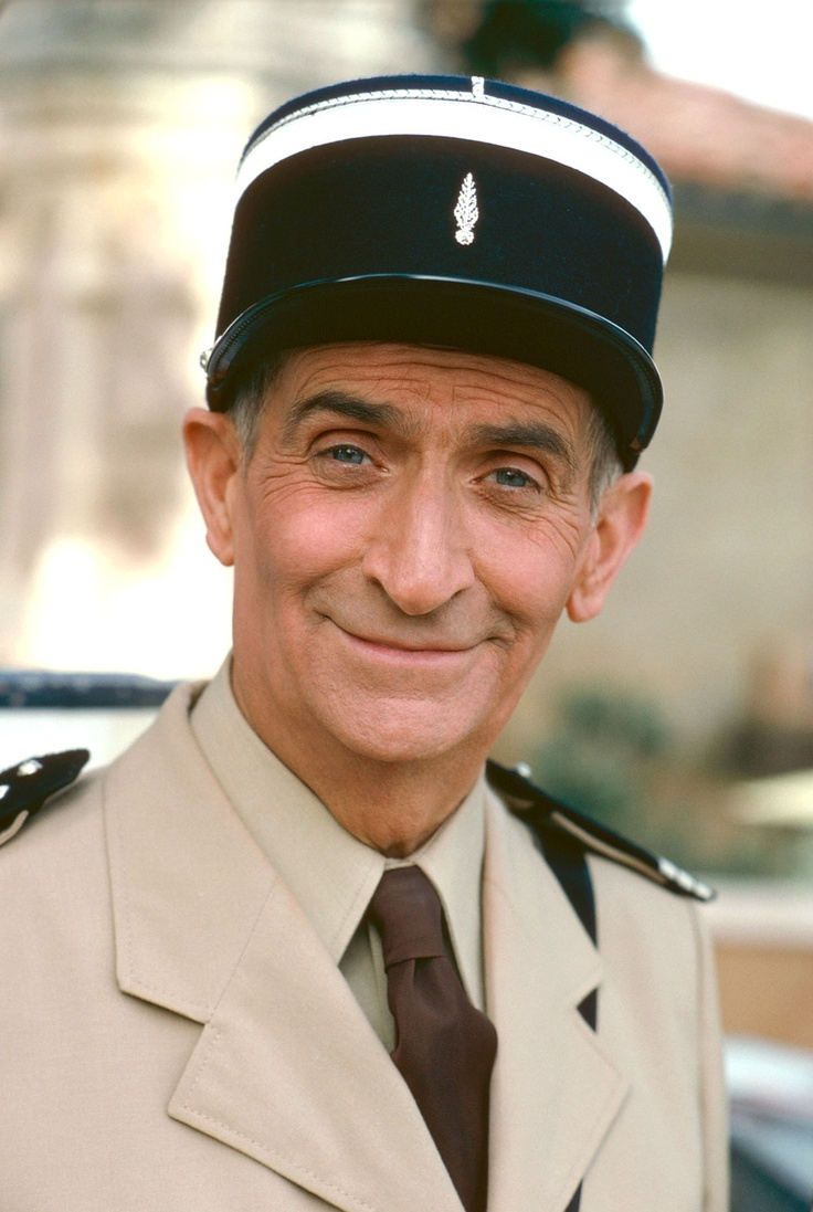 louis de funes le gendarme de st tropez louis de funes pinterest police uniforms funny. Black Bedroom Furniture Sets. Home Design Ideas