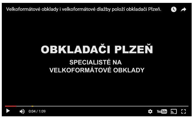 Pro firmu OBKLADAČI PLZEŇ vytvořilo Video studio WFB Media promo video – podívejte se.