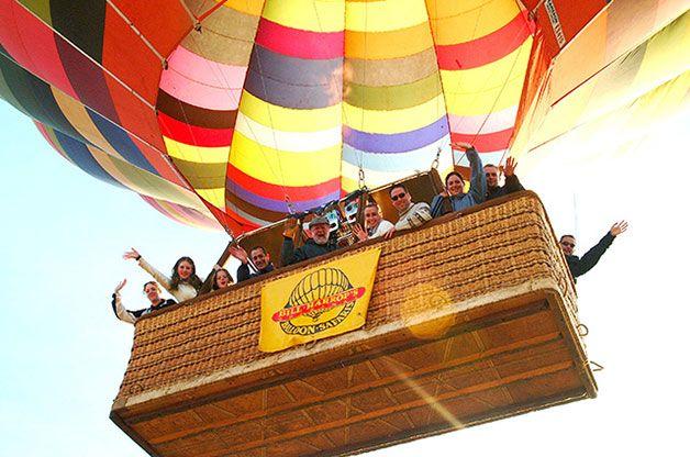 "Excellence Accolade Recognises Bill Harrop's ""Original"" Balloon Safaris As Top Travel Experience."