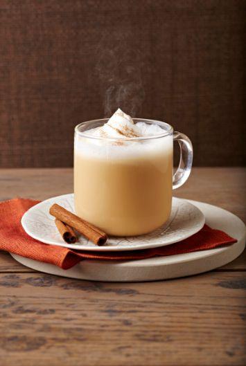 Pumpkin Spice Latte recipe - new from TASSIMO - a little #pumpkinspice love.