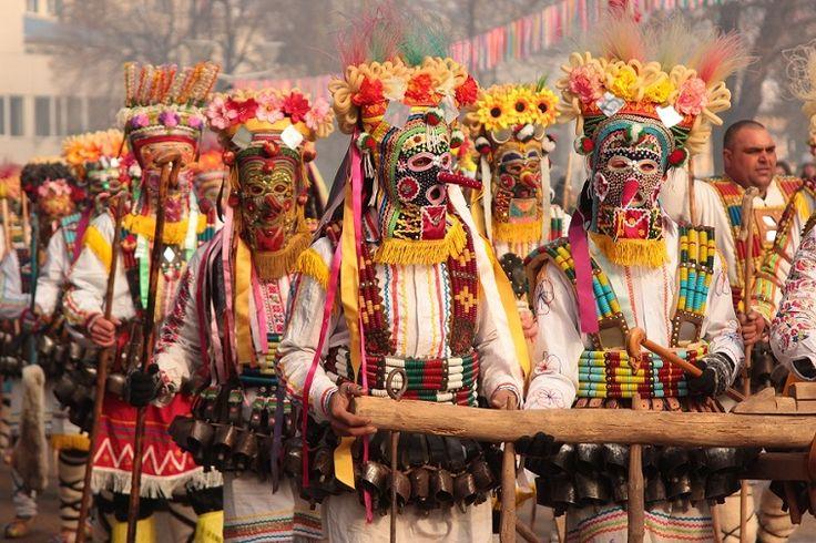 International festival of Masquerade Games SURVA 2017. Pernik Bulgaria.Lana Temina.#surva #festival #kukeri #surva2017 #perniik #mask #carnival #bulgaria #кукери #сурва2017 #маски #интересные #путешествия #фото #традиции #народные #travel