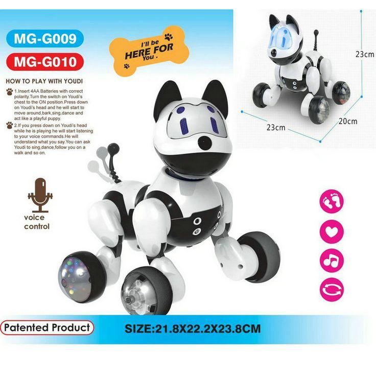 Spaß Kinder Bildung, Elektrische Robotic Hunde, Sound Control, Nette  Elektronische Haustiere, Spielzeug