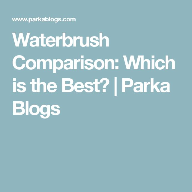 Waterbrush Comparison: Which is the Best? | Parka Blogs