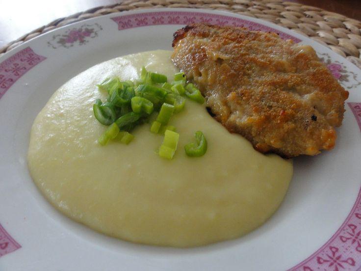Holandský řízek | recept. Holandský řízek s hedvábnou kaší bylo moje zamilované jídlo ve školní jídelně. Dodnes ten