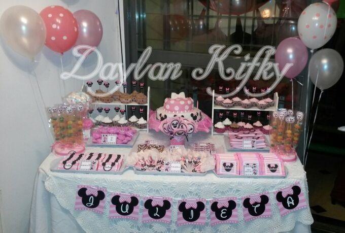Fiesta Temática Minnie en rosa