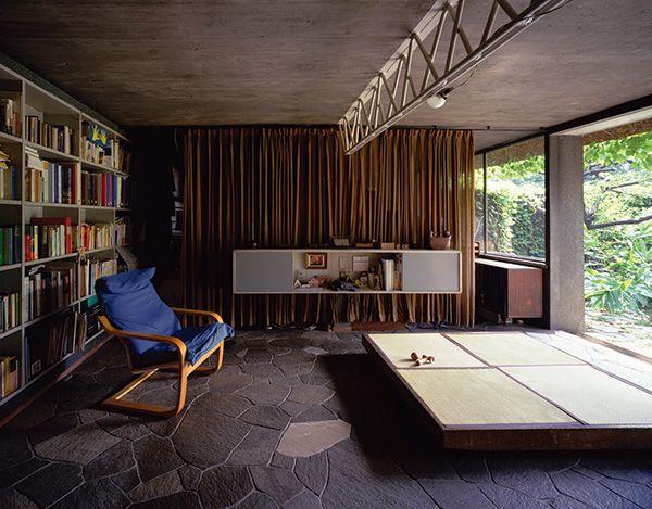 清家清《私の家》1954年 撮影:新建築社写真部