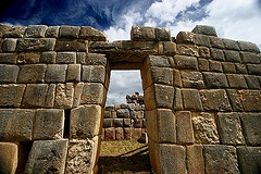 The Inca ruins at Huanucopampa