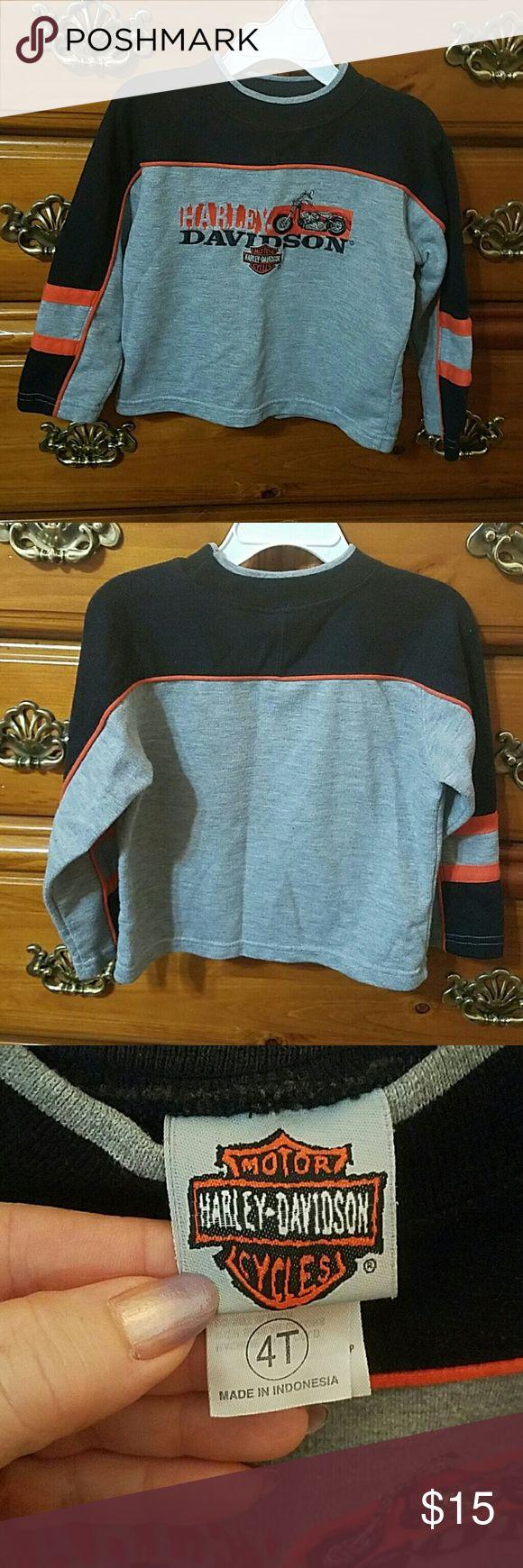 Harley Davidson sweatshirt Embroidered Harley Davidson sweatshirt. Harley-Davidson Shirts & Tops Sweatshirts & Hoodies