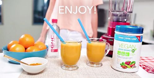 Amp up your routine with this Spring Training Smoothie. 1 TBS Turmeric--1/2 Cup Organic OJ-- 1 Cup Purified Water-- 1 scoop Total Lean-Lean Shake Vegan 25. Blend. Pour. Enjoy.